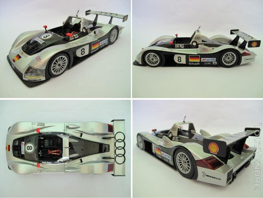 Audi R8R #8 Joest 24H du Mans 1999 Maisto 1/18 125740446