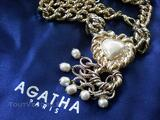 AUTHENTIQUE COLLIER AGATHA