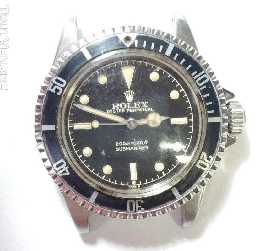 Authentique Rolex Submariner 1962 Genuine 5512 416956589