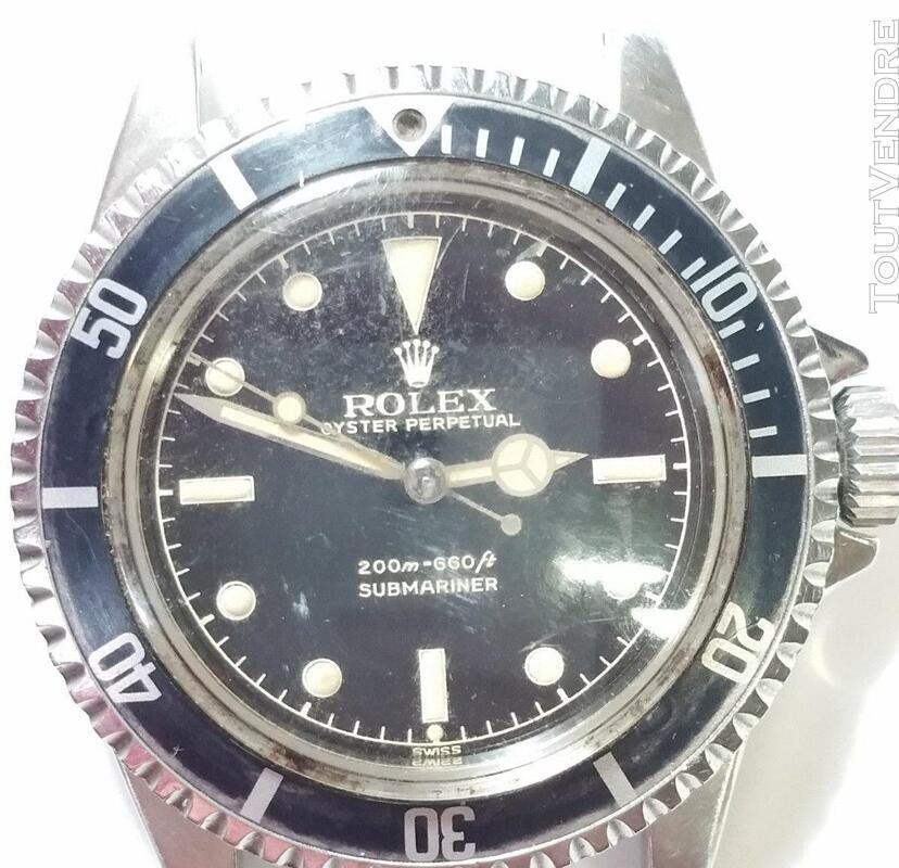 Authentique Rolex Submariner 1962 Genuine 5512 416956607