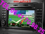 Autoradio dvd gps usb sd ipod mp3 pour mercedes benz