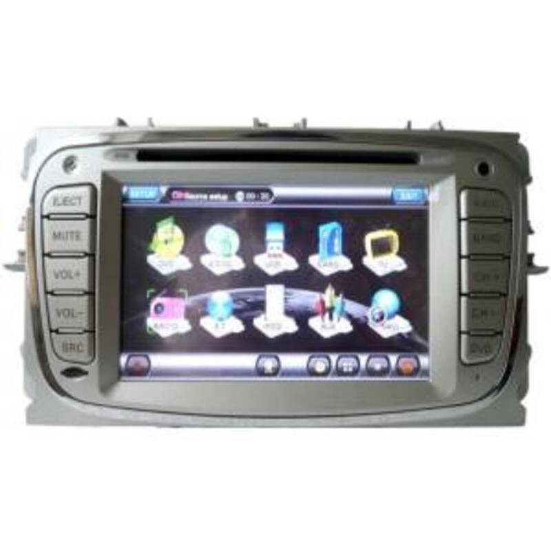 Autoradio gps FORD chargeur 6 cd bluetooth gestion radars 34592002