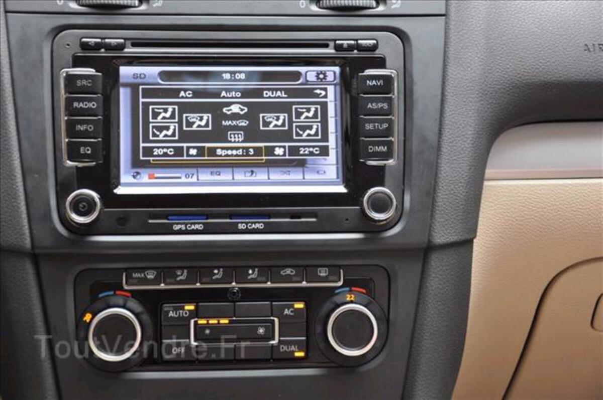 Autoradio gps Volkswagen SEAT SKODA bluetooth gestion radars 34591974