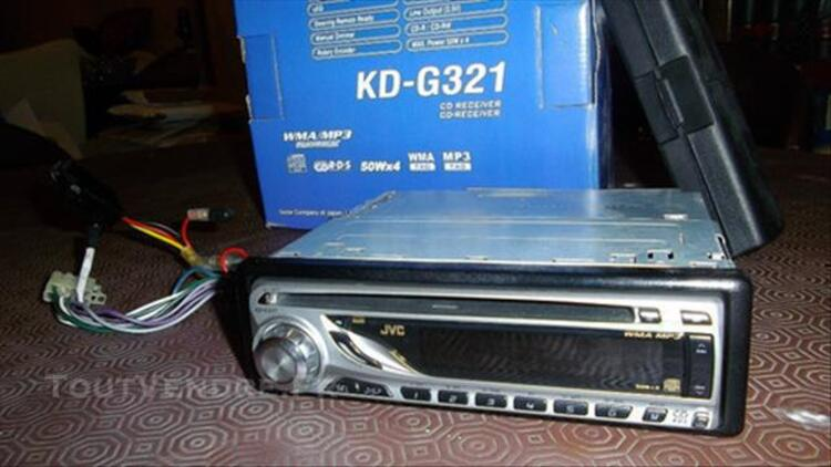 Autoradio JVC KD G321 mp3 4x50w 82200076