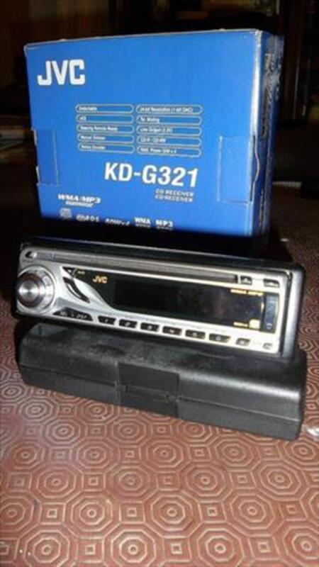 Autoradio JVC KD G321 mp3 4x50w 82200077