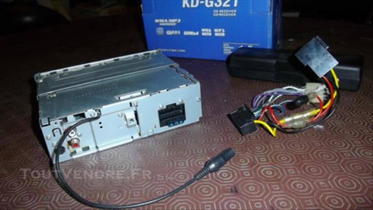 Autoradio JVC KD G321 mp3 4x50w 82200078