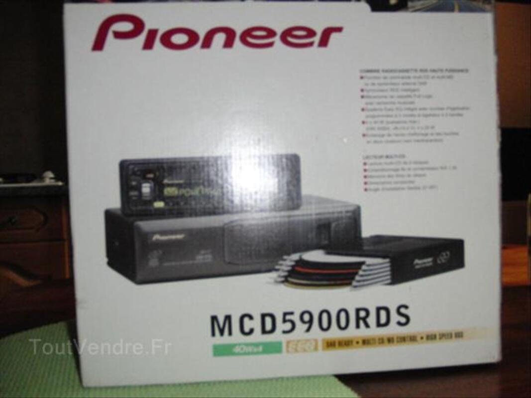 AUTORADIO K7 + CHARGEUR CD PIONEER 56192556
