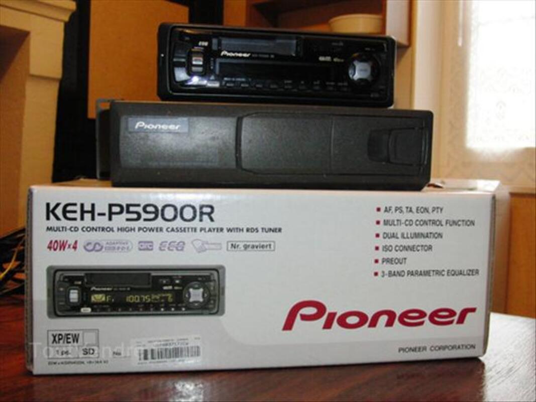 AUTORADIO K7 + CHARGEUR CD PIONEER 56192558