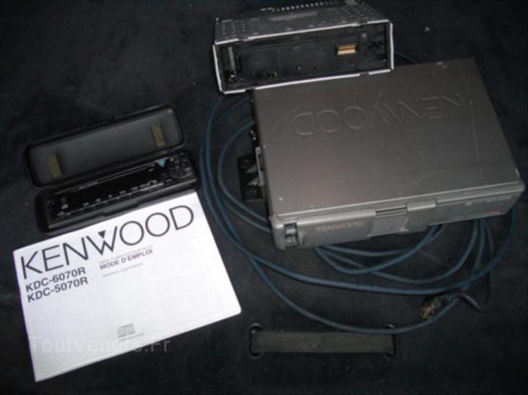 Autoradio kenwood avec chargeur cd 64604544