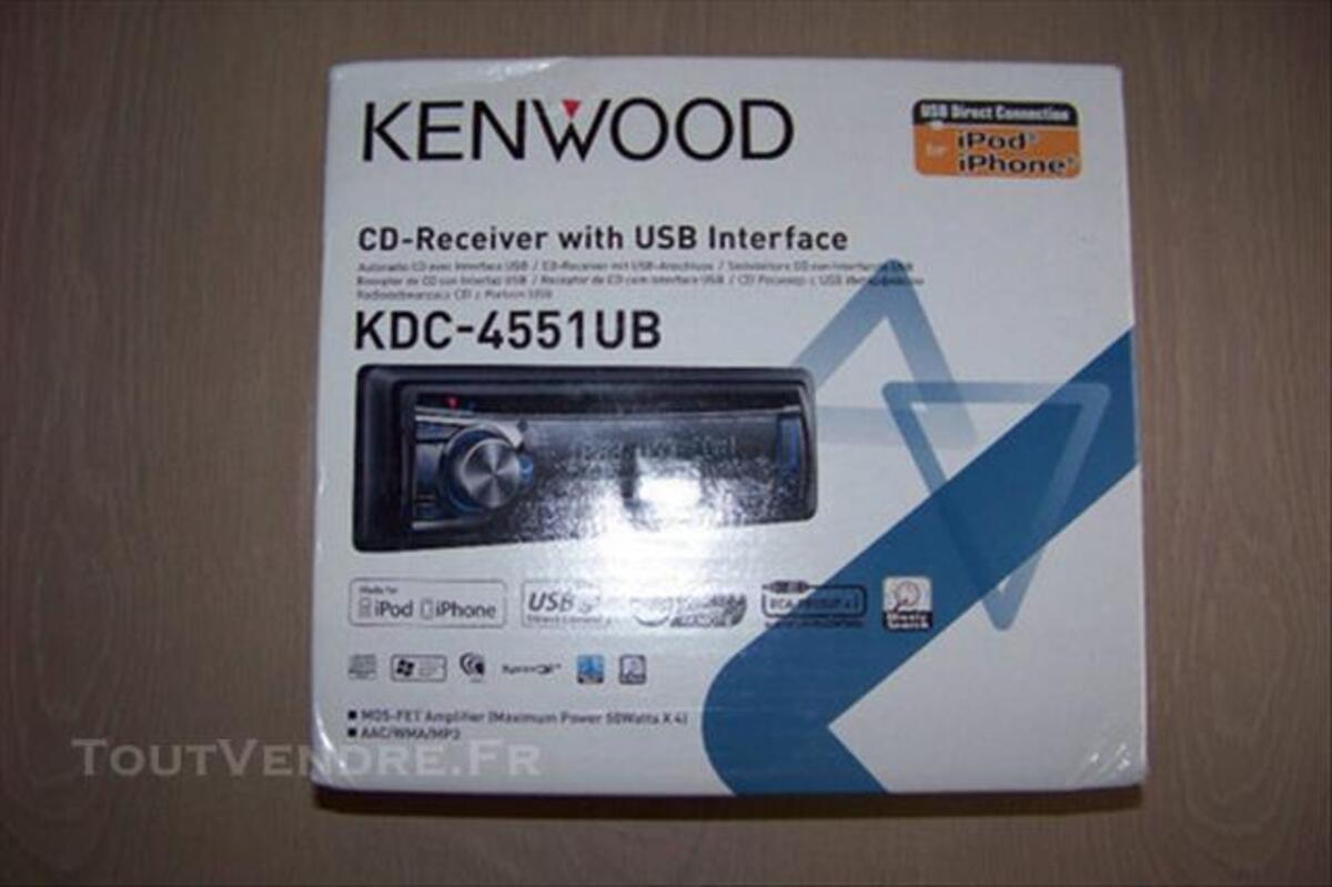 Autoradio KENWOOD KDC-4551 UB 83884397