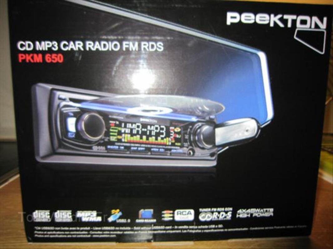 Autoradio neuf, encore dans son emballage 66097553