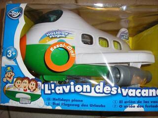 Avion des Vacanciers (encore emballé) Noël 2011