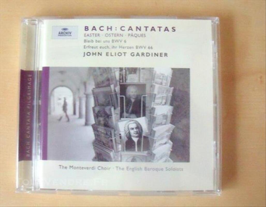 BACH - Cantates pour Pâques 85275748