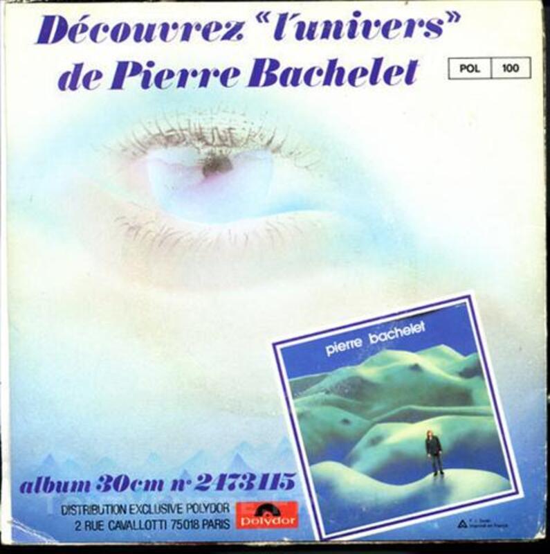 """BACHELET Pierre """"Elle est d'Ailleurs"""" - 45T Polydor2056 73980461"""