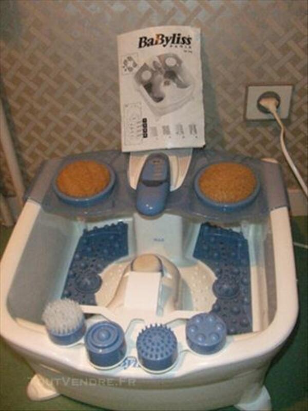 Bain de massage pour les pieds BABYLISS + accessoires 73984653