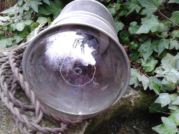Baladeuse en Fer/Lampe/Atelier/loft/Ancienne/Collection suxn 165625435