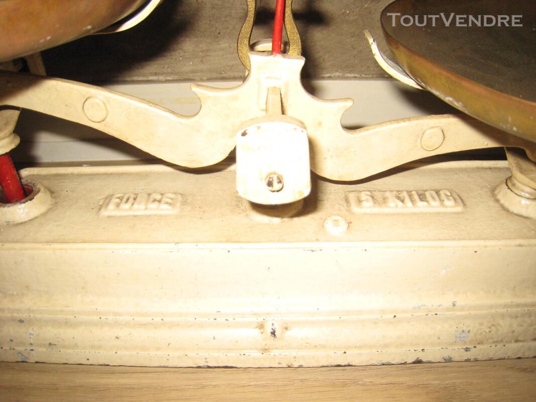 Balance ancienne « type Roberval » force 5 kilos 153040330