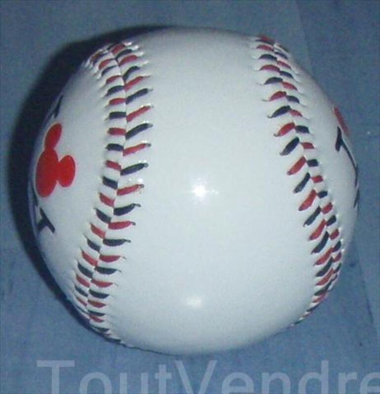 """BALLE DE BASE BALL COLLECTOR DISNEY """"I LOVE NY"""" 56282957"""