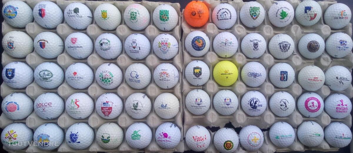 Balles Golf Logotées Clubs Golf Français,Etrangers & Compét 657148612