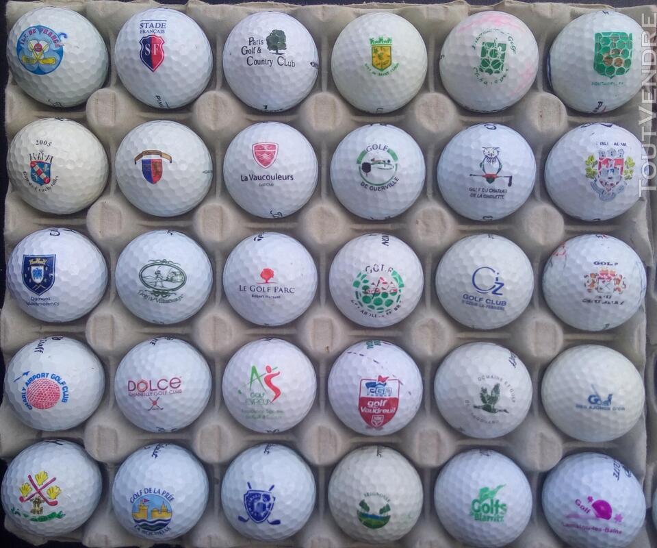 Balles Golf Logotées Clubs Golf Français,Etrangers & Compét 657148615