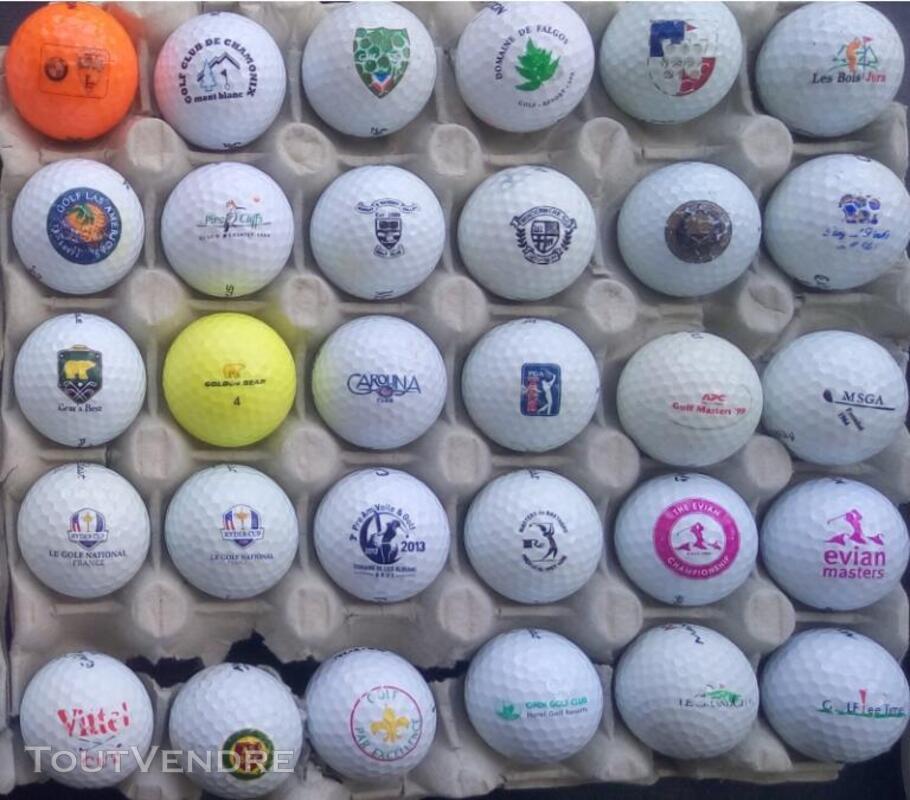 Balles Golf Logotées Clubs Golf Français,Etrangers & Compét 657148618