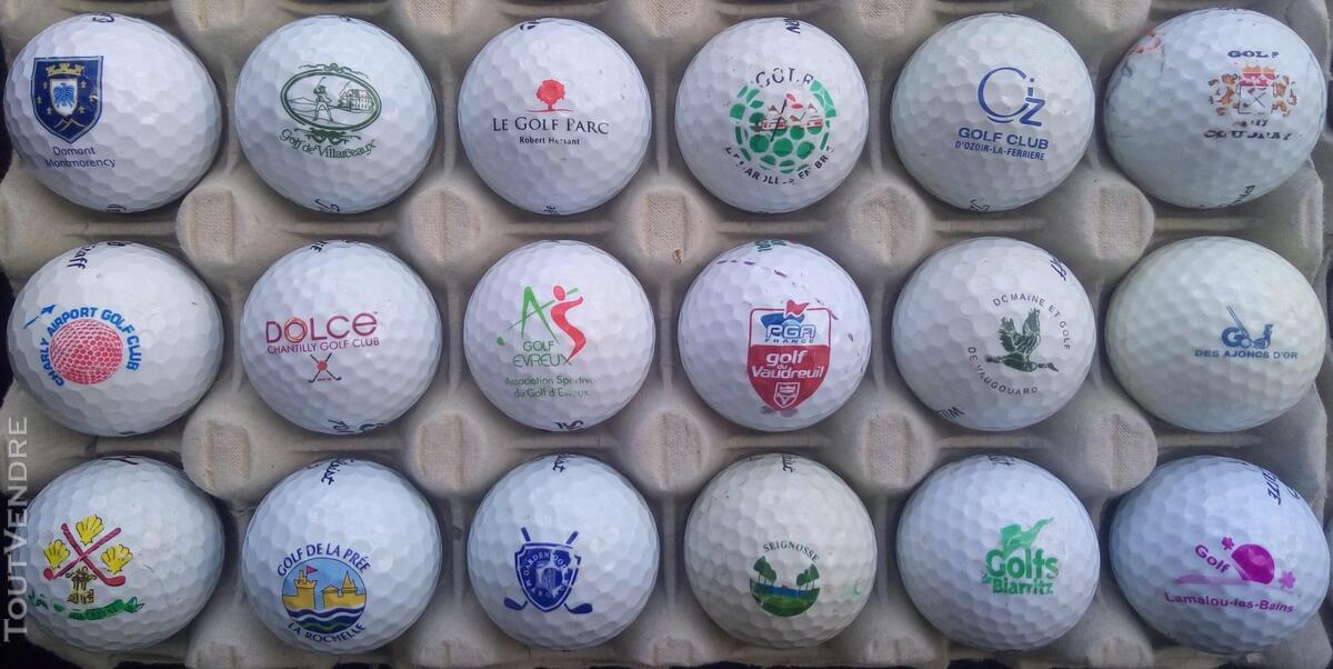 Balles Golf Logotées Clubs Golf Français,Etrangers & Compét 657148633