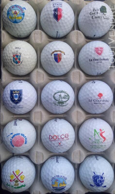 Balles Golf Logotées Clubs Golf Français,Etrangers & Compét 657148636