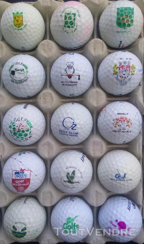 Balles Golf Logotées Clubs Golf Français,Etrangers & Compét 657148639