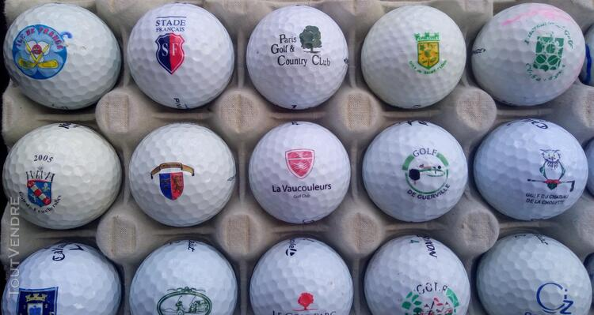 Balles Golf Logotées Clubs Golf Français,Etrangers & Compét 657148642