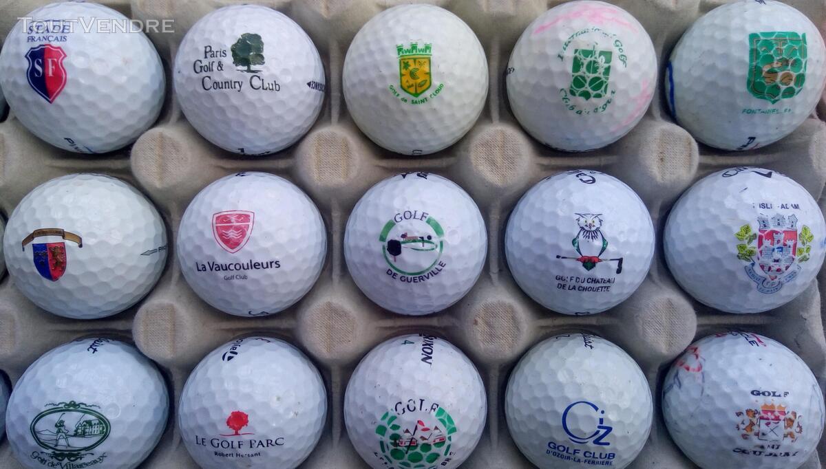 Balles Golf Logotées Clubs Golf Français,Etrangers & Compét 657148645