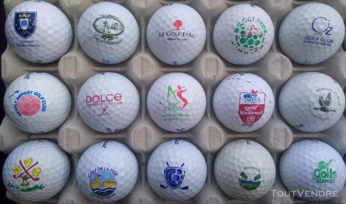 Balles Golf Logotées Clubs Golf Français,Etrangers & Compét 657148648