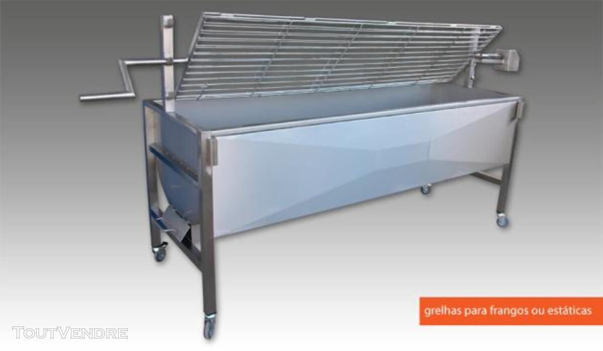 Barbecue à charbon pour porc/poulet à la broche 381758205