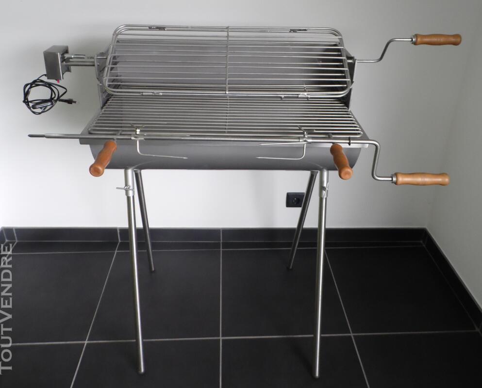 Barbecue trépied - 2 poulet 381756279