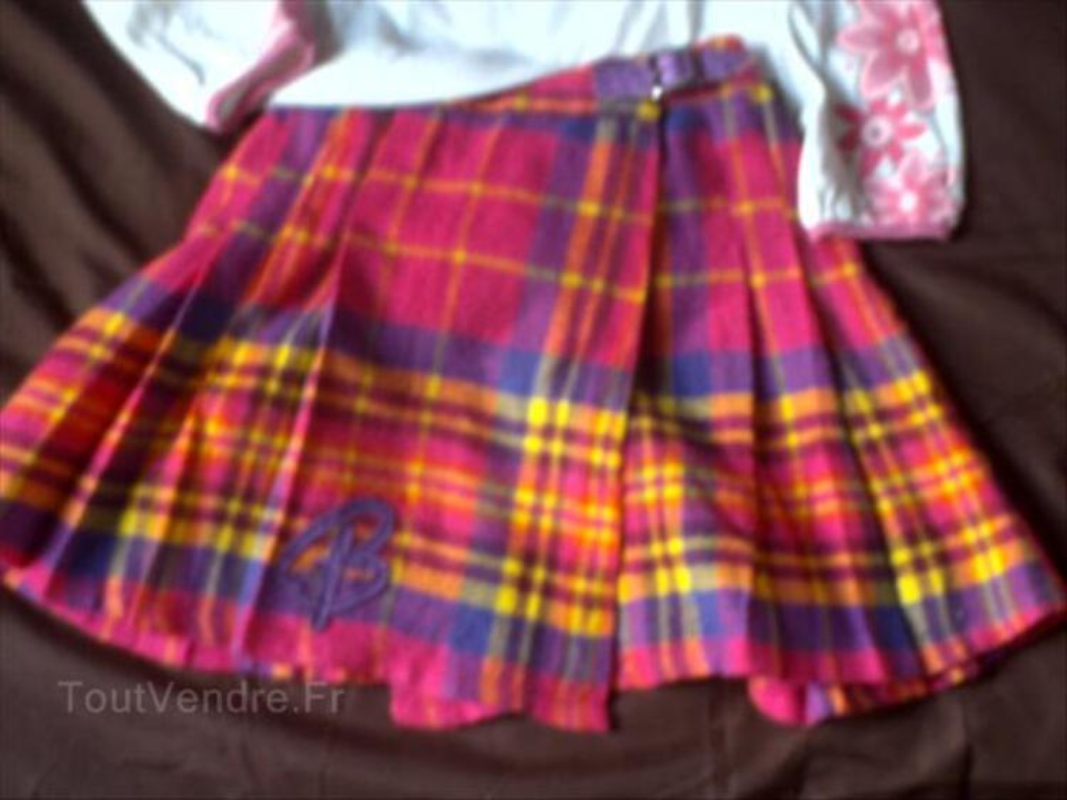 Barbie haut + jupe 6 ans + pantalon barbie 56537274