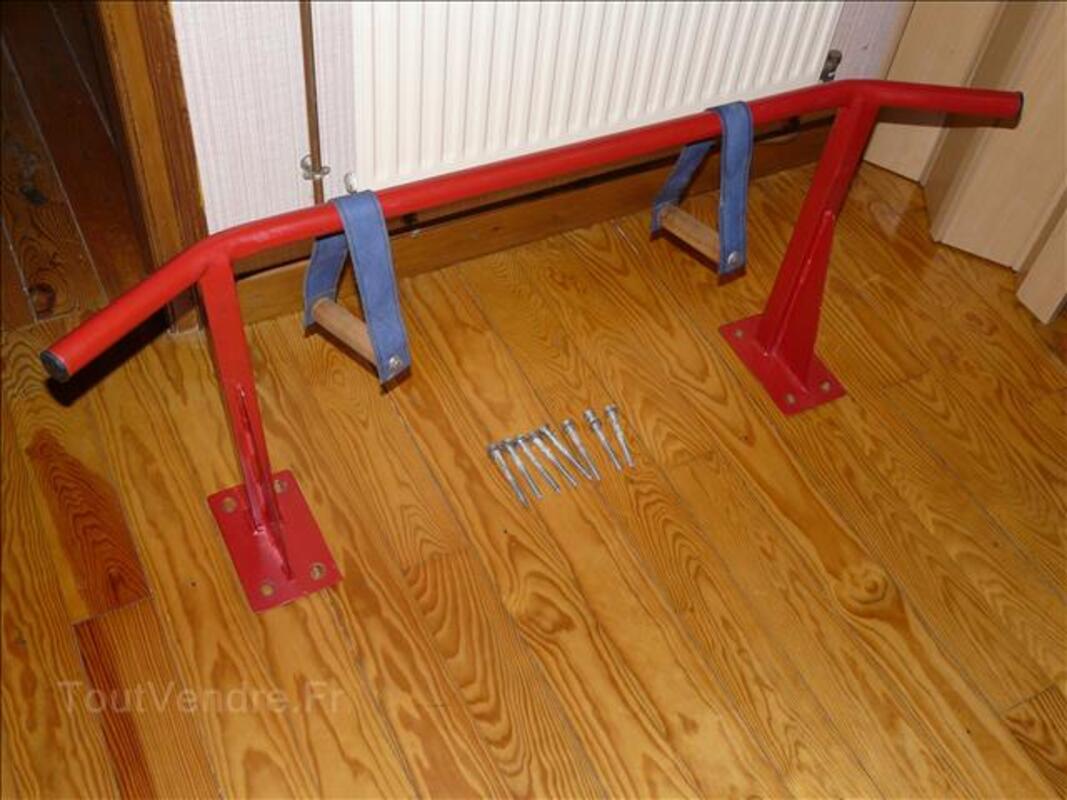 Barre de traction maison très solide en une pièce 103403133