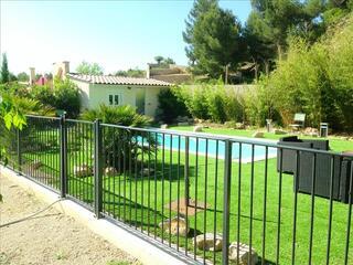 Barrière piscine homologuée norme NF P90-306
