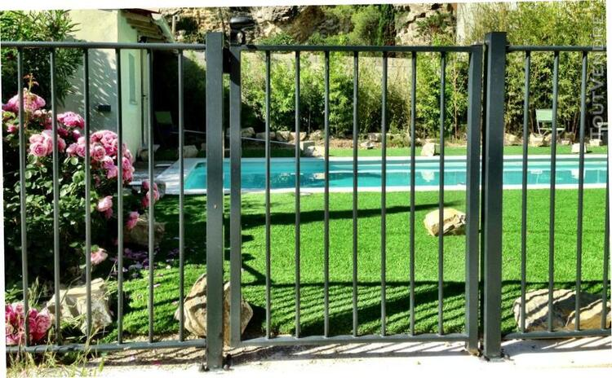 Barrière piscine homologuée norme NF P90-306 252490762