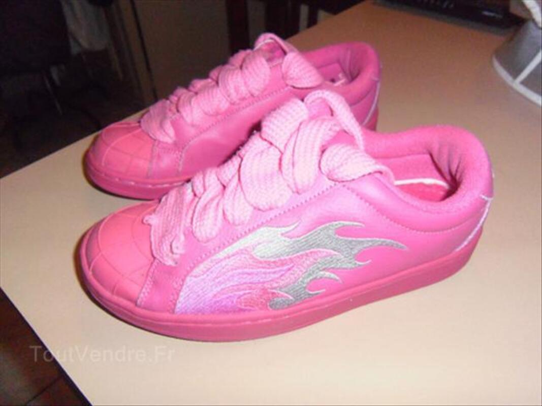 Baskets femme Buffalo rose. pointure 38 54559287