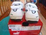 Baskets PUMA blanches taille 22