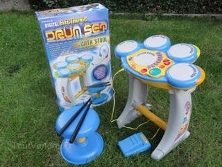 Batterie electronique pour enfants - excellent état