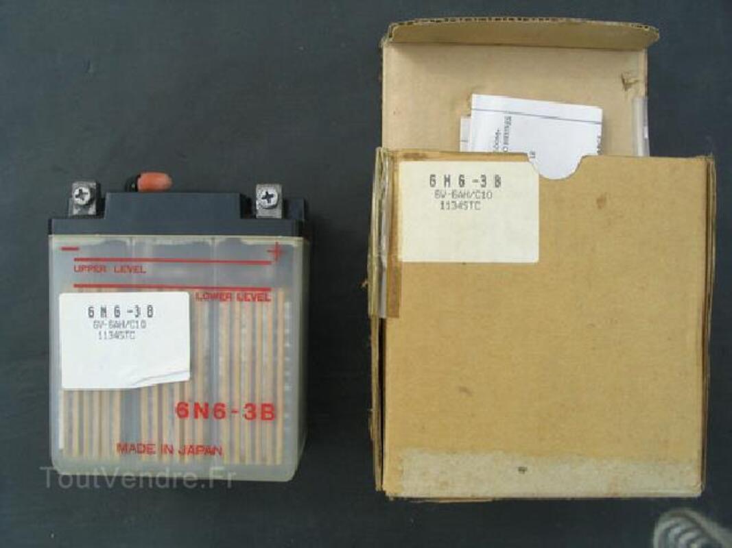 Batterie moto 6N6-3B 6V 6AH Peugeot SX8 93800878