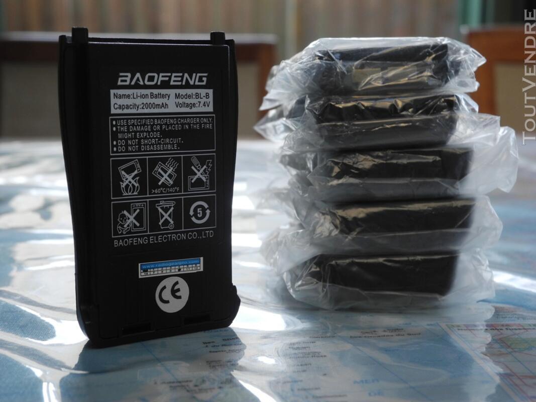 Batterie pour talkie-walkie Baofeng UV-b5 et B6 109995290