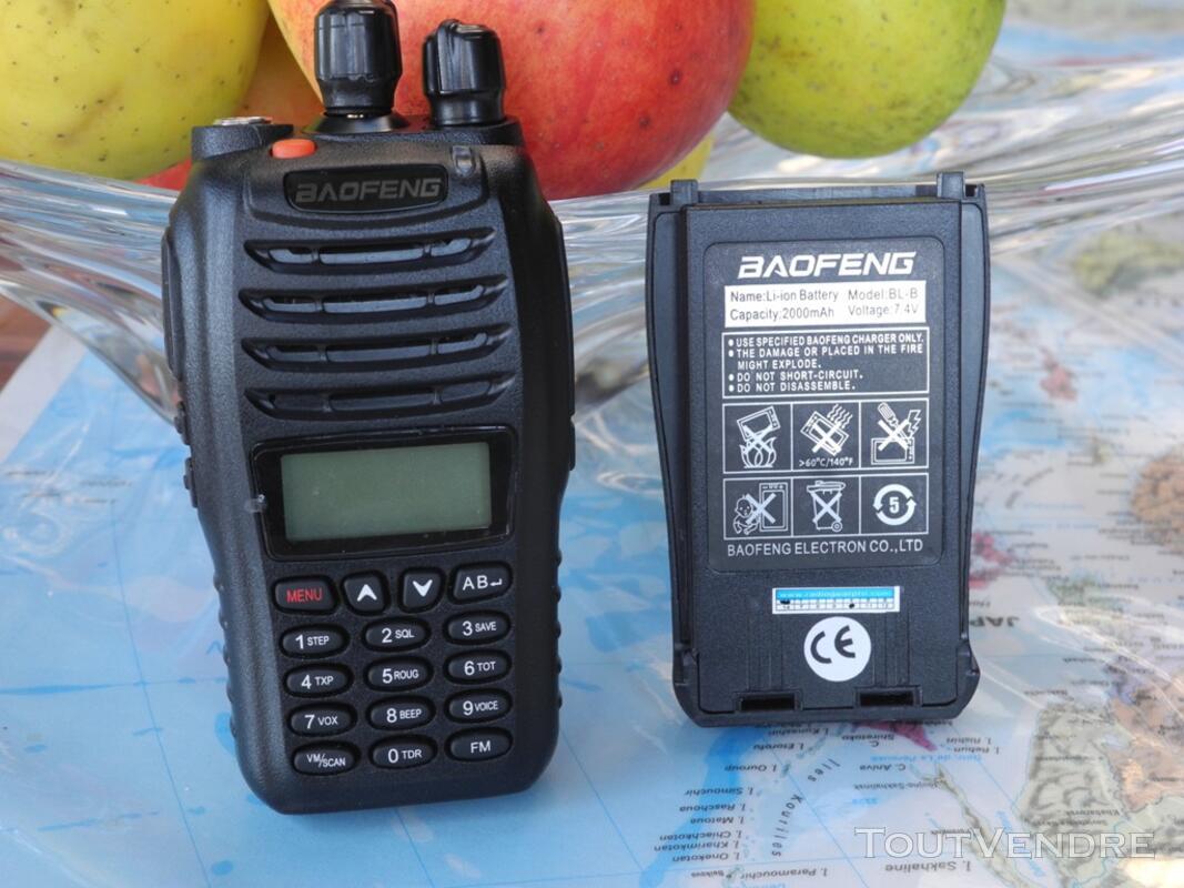 Batterie pour talkie-walkie Baofeng UV-b5 et B6 109995421