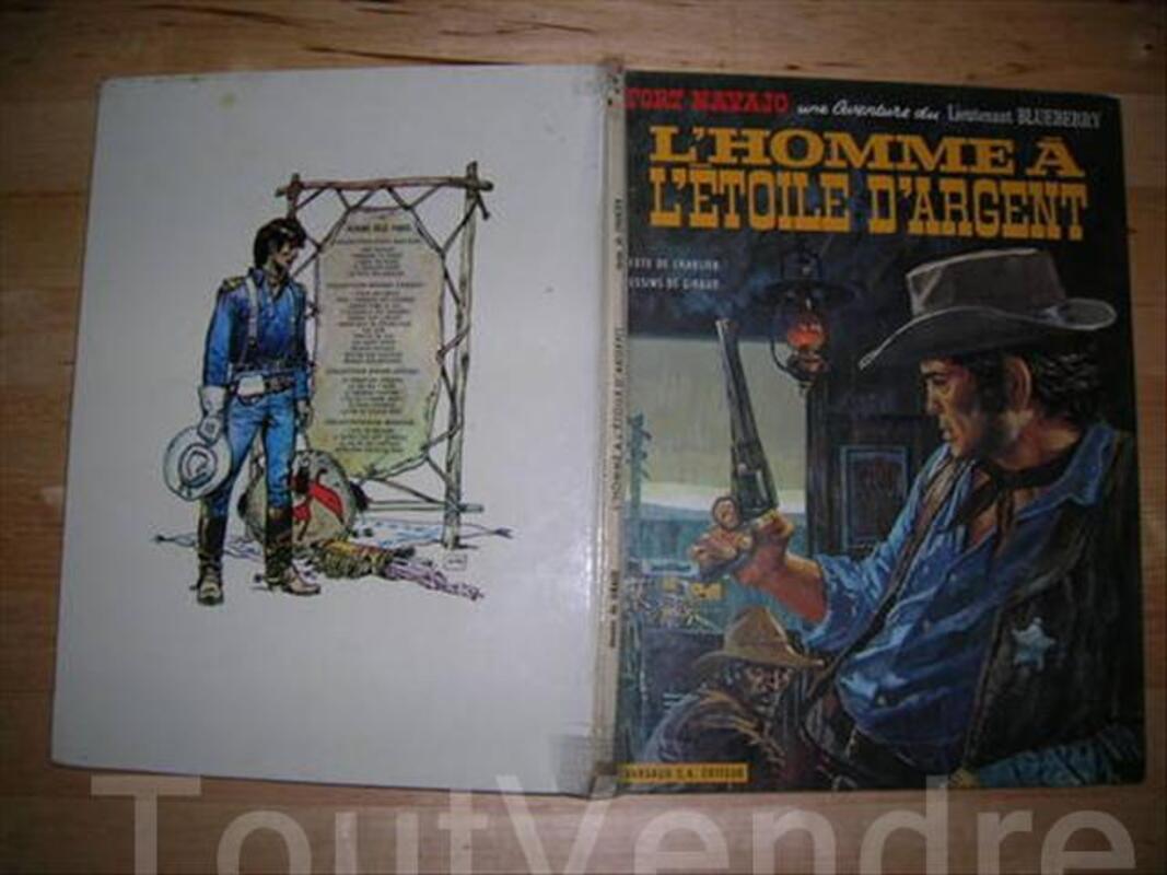 BD BLUEBERRY/l'homme à l'étoile d'argent/eo/1969 73114384