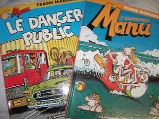 BD Manu par Margerin 1e edition au choix