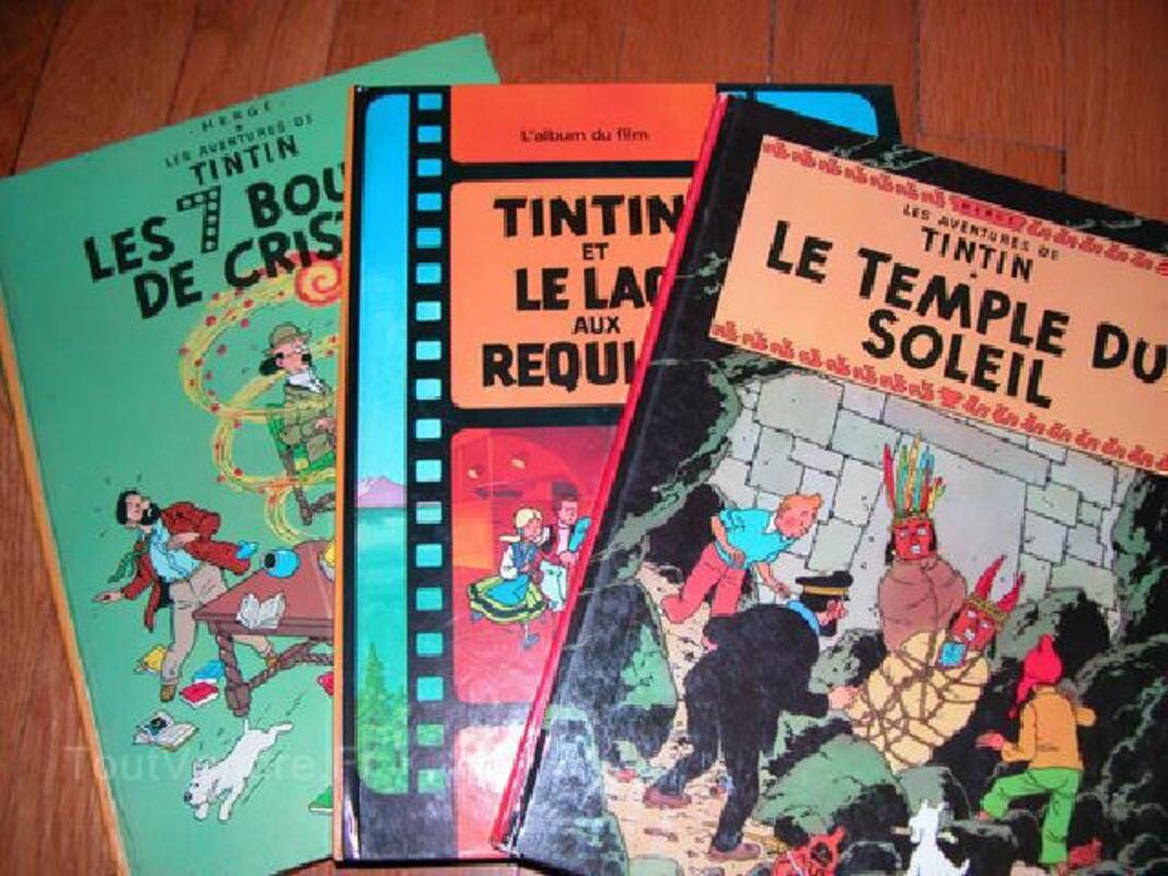 BD originales - les aventures de Tintin - HERGE 90793052
