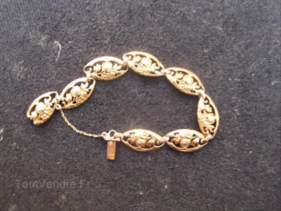 Beau bracelet ancien or 18K 66098346