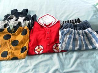 Beau lot de 7 vêtements garçon 3-9 mois