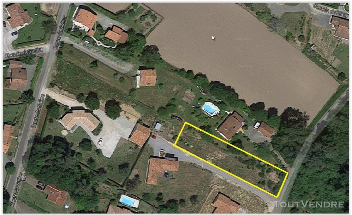 Beau terrain à bâtir, au centre de Misson , 30 €/m2 281640481