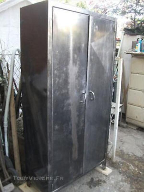 BELLE armoire de cuisine METAL DESIGN INDUSTRIEL 1950 45854083